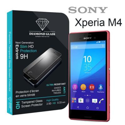 Film protection d'écran en verre trempé - Sony Xperia M4