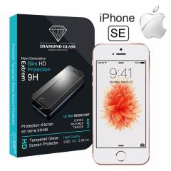 Protection écran en verre trempé  iPhone SE - DIAMOND HD