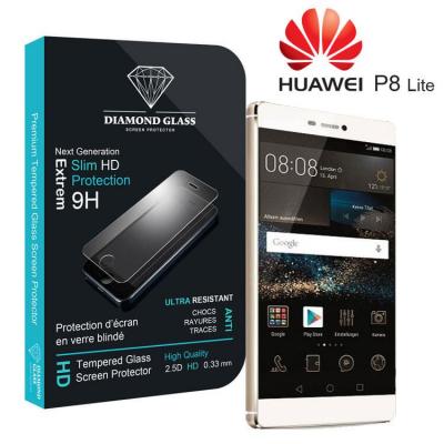 Protection d'écran en verre trempé Diamond Glass HD - Huawei P8 Lite