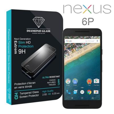 Film protection d'écran en verre trempé - Nexus 6P