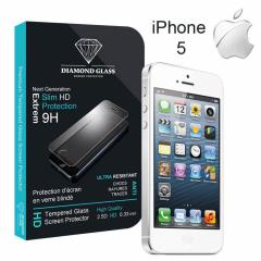 Protection d'écran iPhone 5-5S-5C en Verre Trempe - DIAMOND