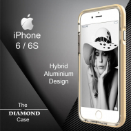 Coque iPhone 6 - 6S Diamond Hybrid Aluminium