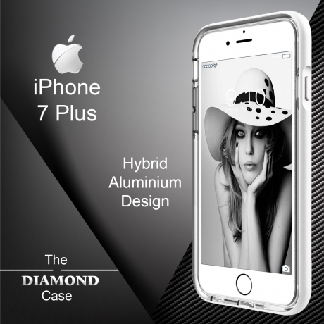 Coque iPhone 7 Plus Daimond Hybrid Aluminium