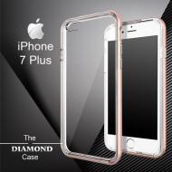 Coque iPhone 7 Plus Daimond Hybrid Aluminium
