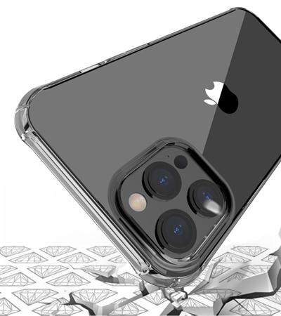 coque de protection en silicone transparent pour smartphone